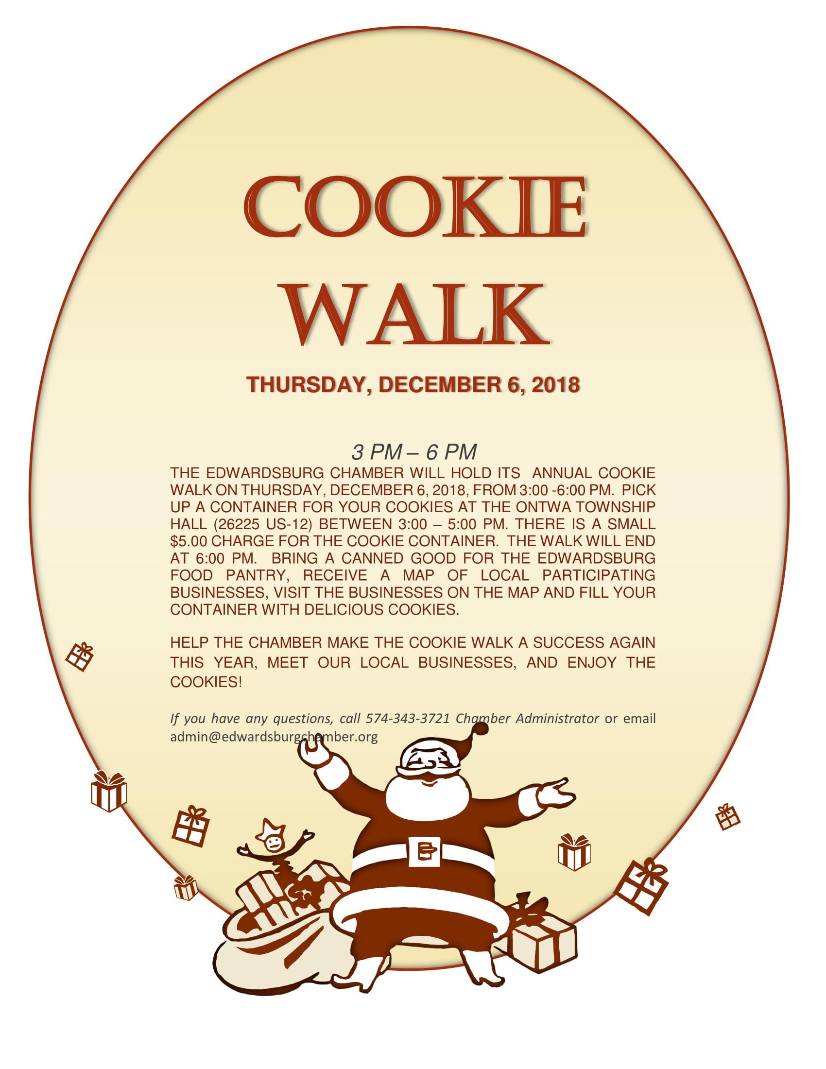 Cookie Walk 2018
