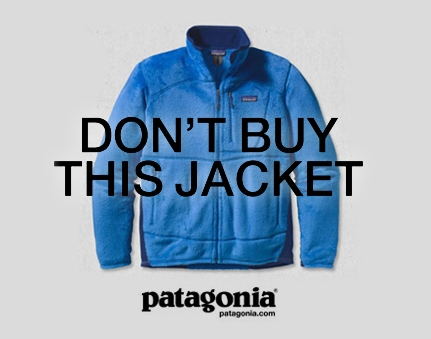 Patagonia's campaign on Black Friday