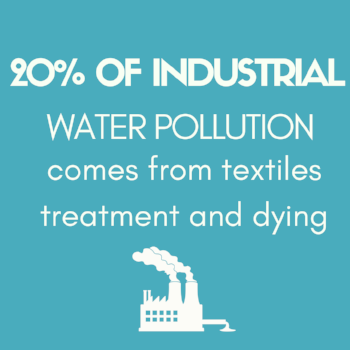 Fashion & Water Pollution