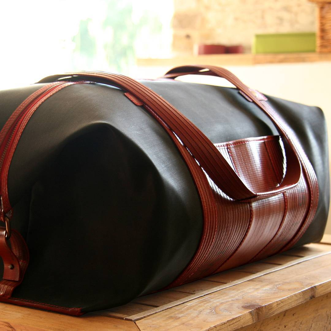 Elvis & Kresse - Made in the UK with recycled material.Based In: UKPrice Range: €€€Shipping: UK free from £100 order, worldwide for a fee.Webpage: www.elvisandkresse.com