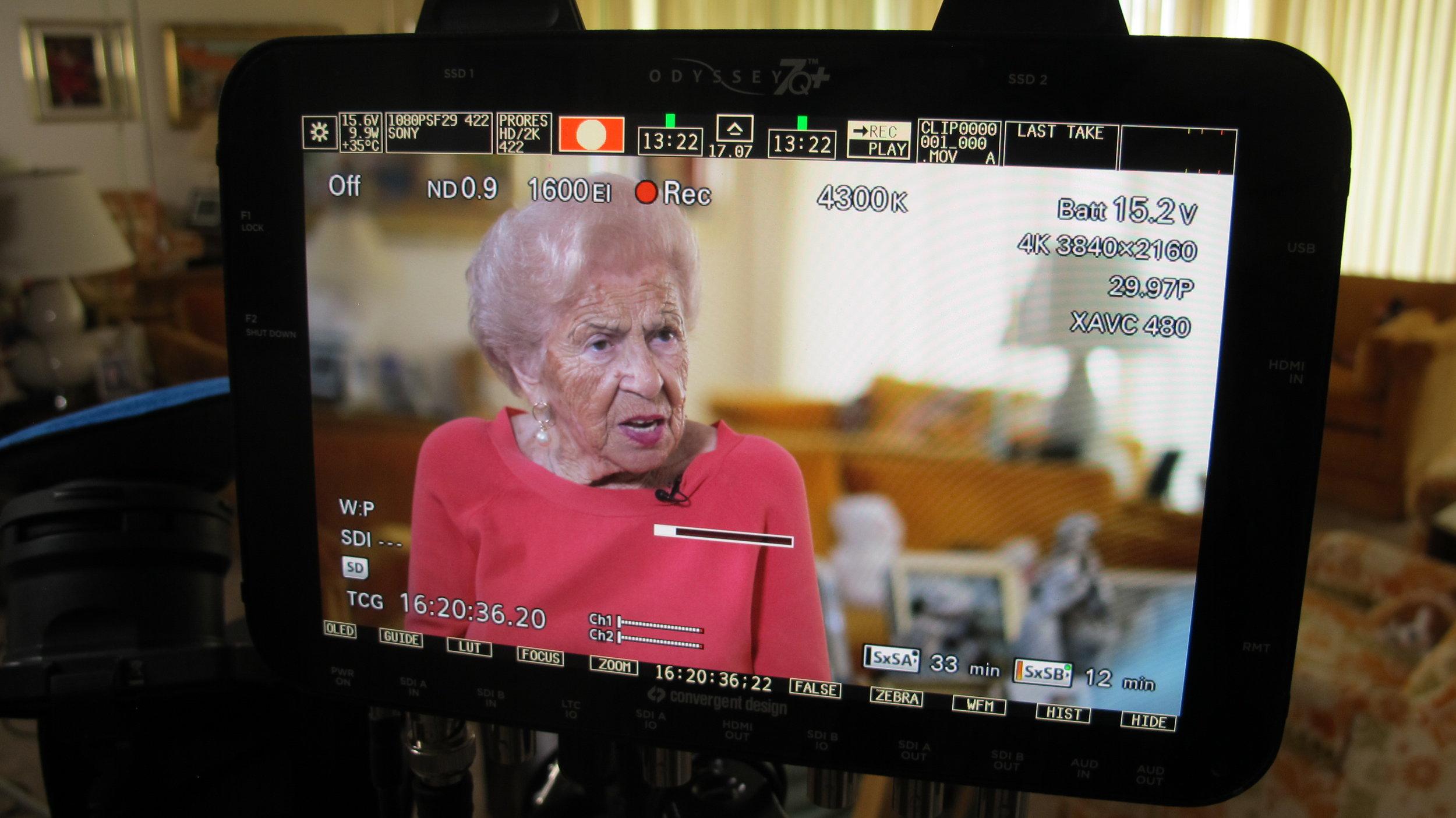 UM Holocaust Internship participant Edith Akerman.