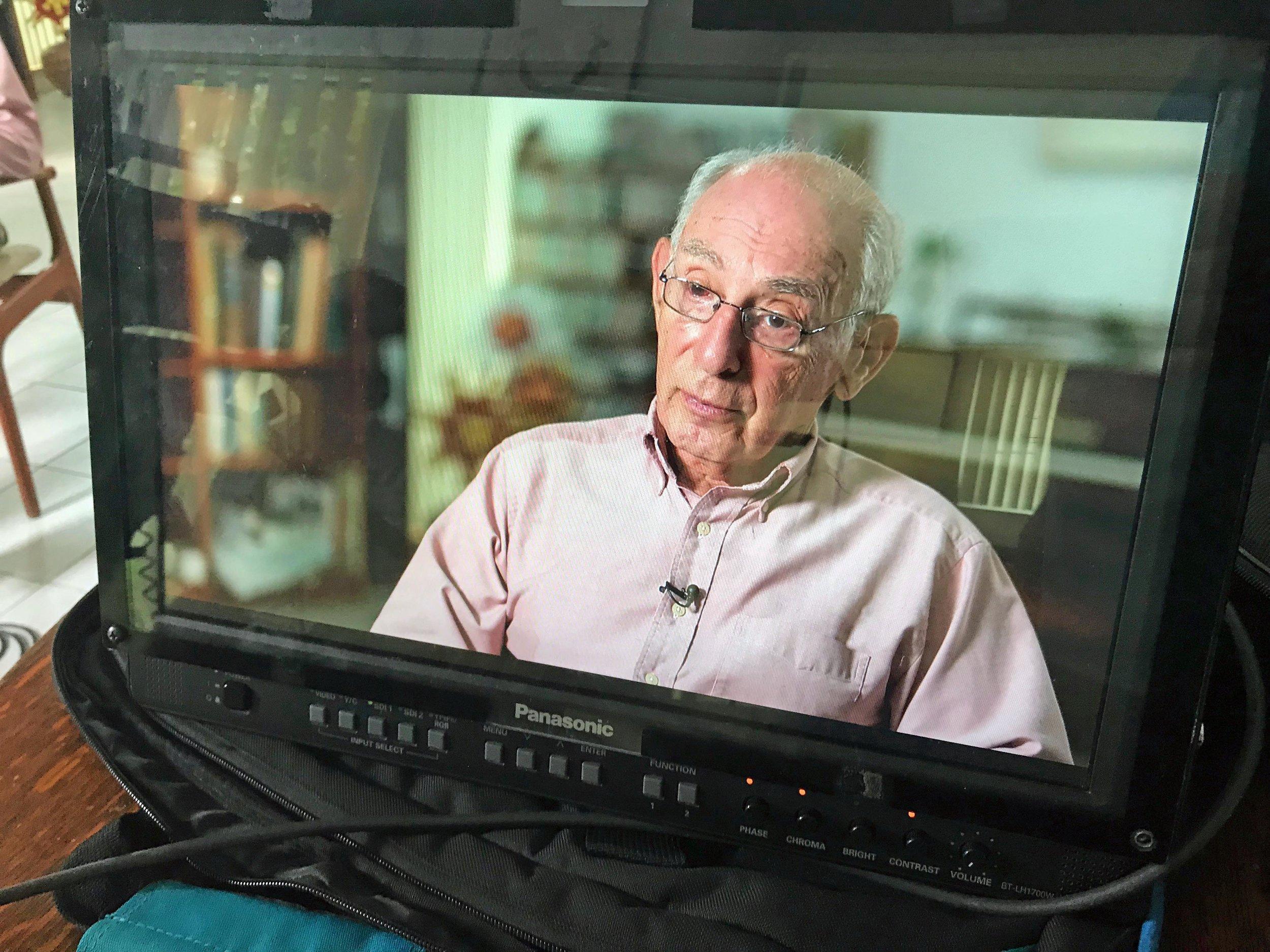 Holocaust Survivor Peter Tarjan.