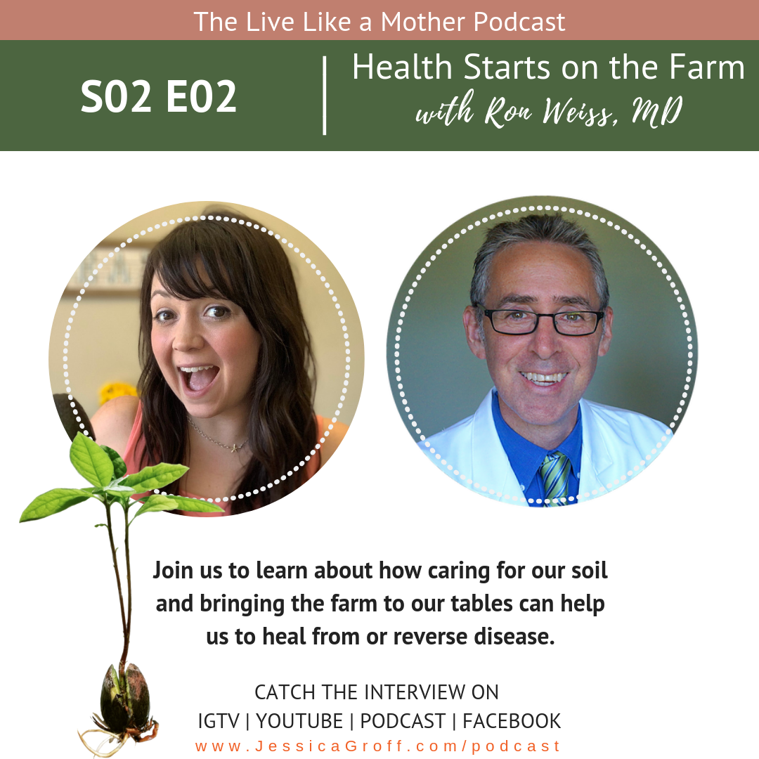 Health Starts on the Farm with Dr. Ron Weiss