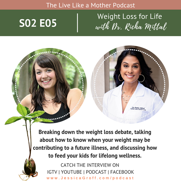 """""""When you've struggled with your weight your whole life, a lot of it isn't on YOU anymore."""" Dr. Richa Mittal"""