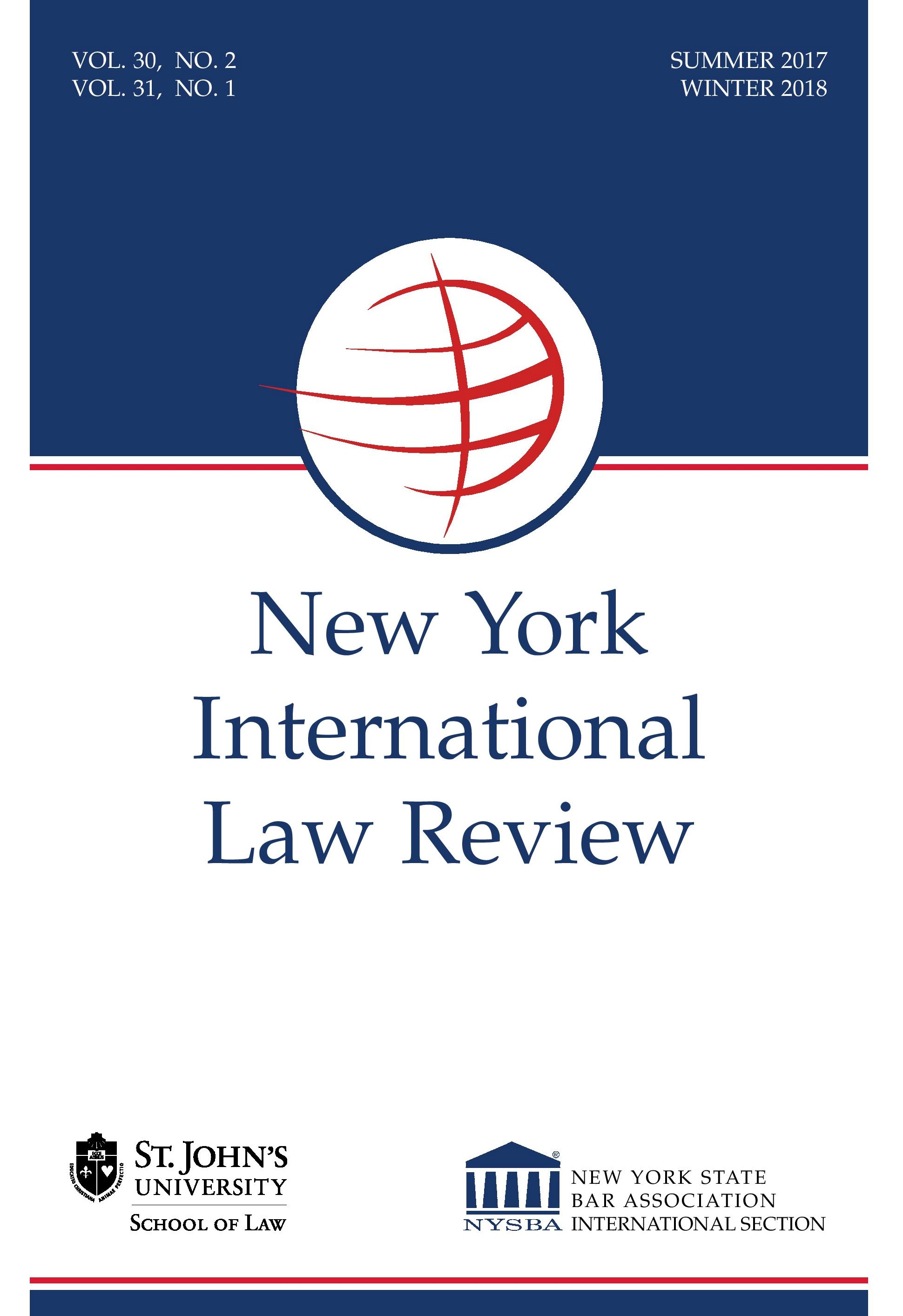 New York International Law Review