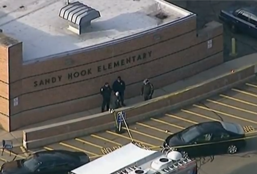 Sandy Hook Elementary was the site of a tragic shooting in December of 2012.  Source: Voice of America [Public Domain]