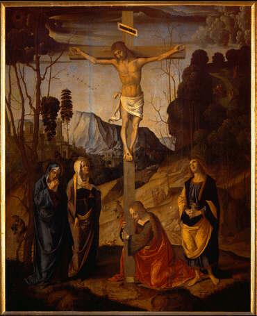 Marco Palmezzano, Crocifissione degli Uffizi