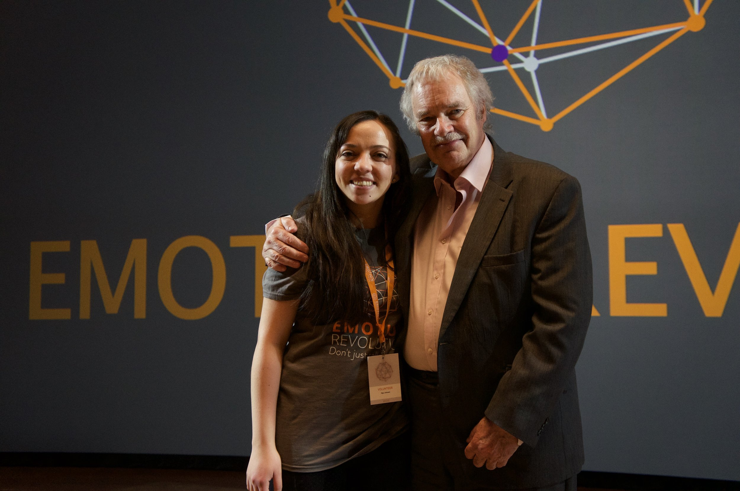 Olga—Head (and heart) of Health and Compassionate Practices at Pracademy— volunteered at the Emotion Revolution Conference in Bergen (2018). She was responsible for coordination during Paul Gilbert's deepening workshop on Compassion-Focused Therapy.