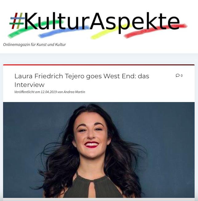 Interview KulturAspekte
