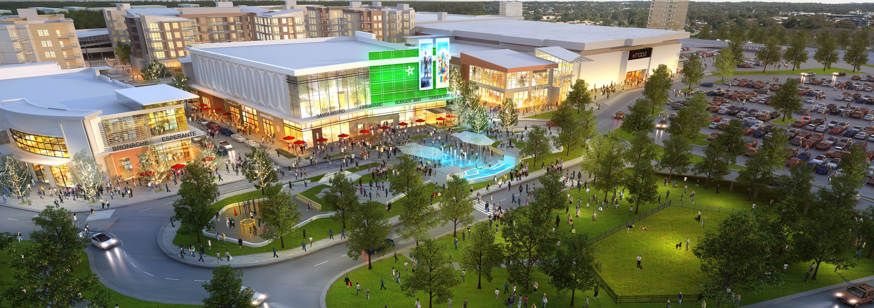 SEQ Figure \* ARABIC            The NEW Landmark – Alexandria, VA - Mall redevelopment to mixed use - Howard Hughes Corporation