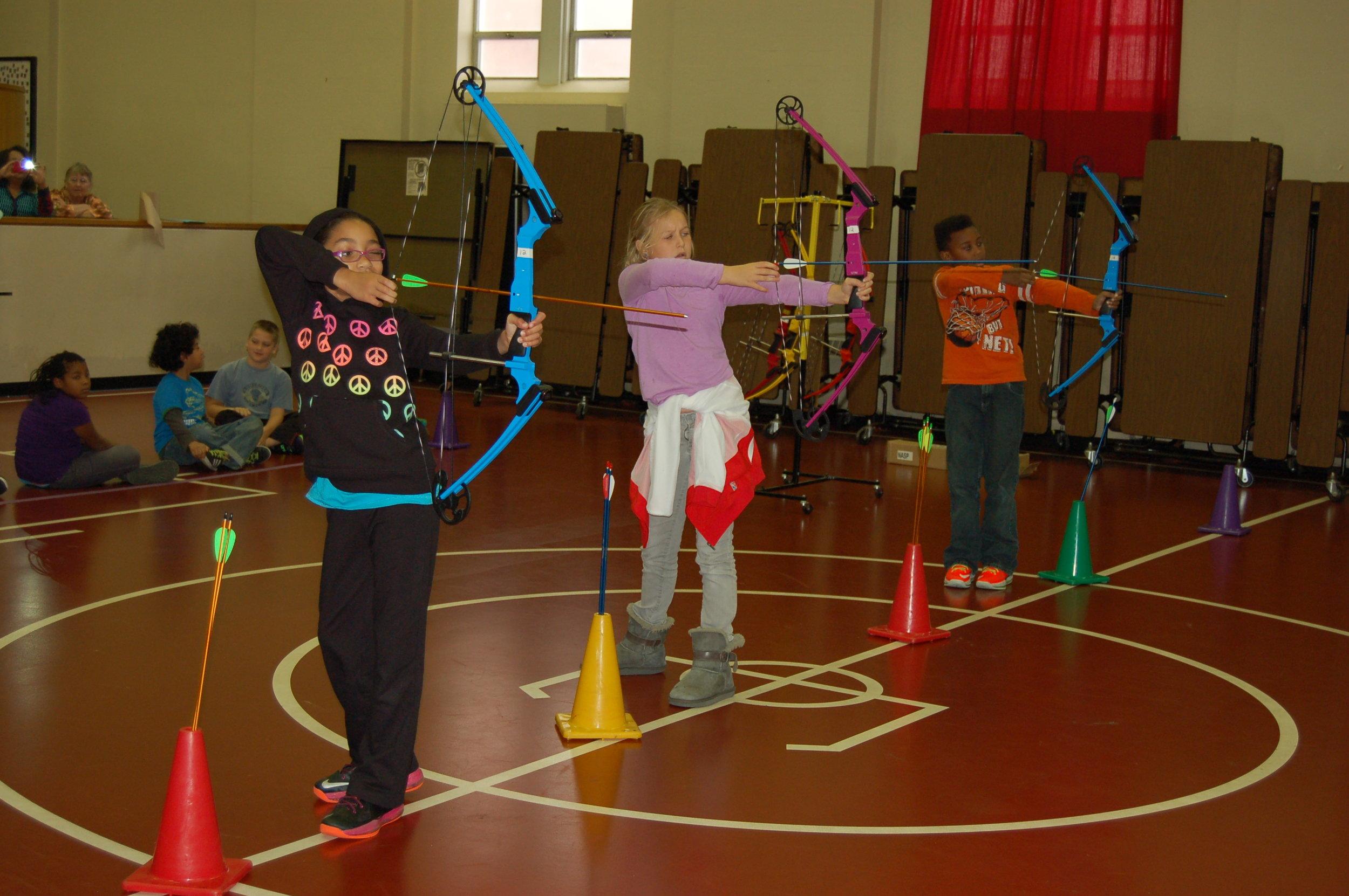 Archery In Schools