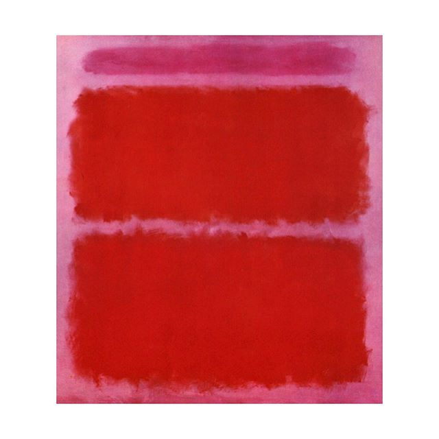 A little Rothko dreaming to combat the Sunday Scaries. This also happens to be one of our fave color combos. Don't panic, both colors make cameos for fall, so at least now you can sleep tonight 💤❣️💤💕💤 #soldoutnyc #artistswelove #rothko #pinkandred #colorcombo #nosundayscaries #FW2019