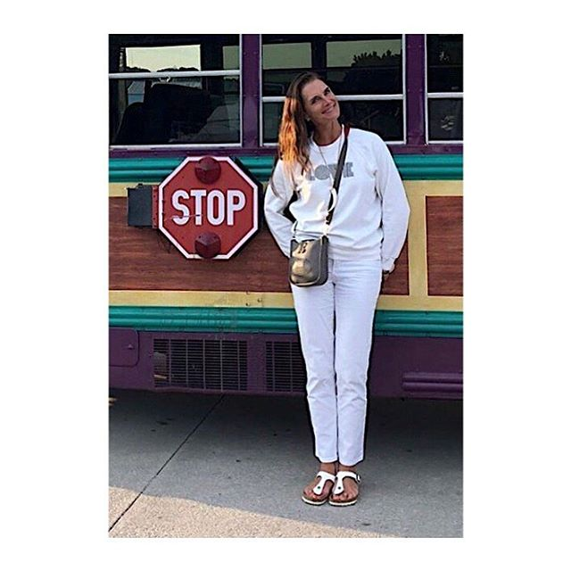 "🎶 STOP! In the name of LOVE""🎶 - and stop in the name of that goddess, @brookeshields in The Love Sweatshirt. Oh yes, it's in stock ✔️ #soldoutnyc #loveistheanswer #loveisallweneed #whiteonwhite #brookeshields"
