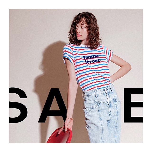 SALE STARTS NOW. 40% off our best-selling tees and sweatshirts. Stock insanely limited. Use code: GETIT #soldoutnyc #sale #fortypercentoff #supercoolteeshirts