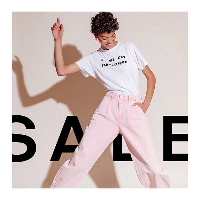 Life is fantastique and so is OUR 40% OFF SALE! Grab our best-selling tees and sweatshirts while they last. Use code: SOCOOL⚡️ #soldoutnyc #saleoftheseason