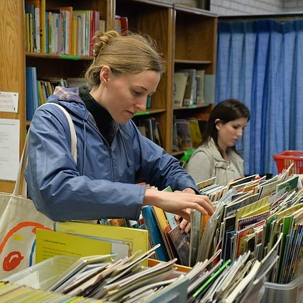 Hey, teachers! It's almost time to go back to school. If you still need books for your classroom, there are great deals on great books this Thursday and Saturday at W. Clarke Swanson Branch, 10AM-3PM. Search the stacks of treasures waiting to be discovered by you! All are welcome to the book sale. Proceeds support @omahalibrary  programs and services.  #beafriend #omahalibrary #friendsofthelibrarybooksale #friendsofthelibrary #library #booksale #libraryfriends #friendsopl #books #reading #teachers #omaha #backtoschool #schools