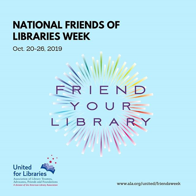 It's National Friends of Libraries Week and a great time to learn more about how you can help @omahalibrary by being a Friend! Visit us at friendsomahalibrary.org to get started today!  #nfolweek19 #libraryfriends #omaha #volunteer #FriendsofOmahaPublicLibrary #beafriend #library #friendsofthelibrary