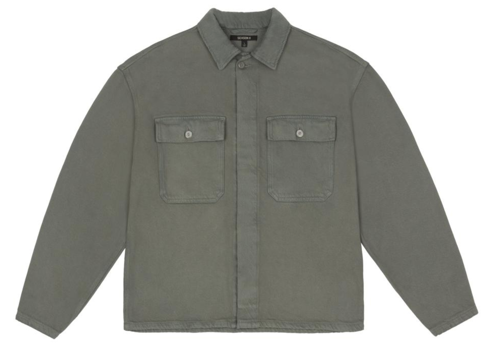 This rugged workwear shirt retails at $500 on the official Yeezy store, which is well worth the price of not getting handcuffed by security in front of the elevators, again.