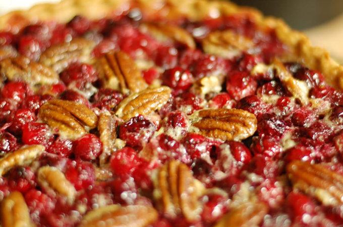 2. P.C. Pie (Pecan and Cranberry Pie)