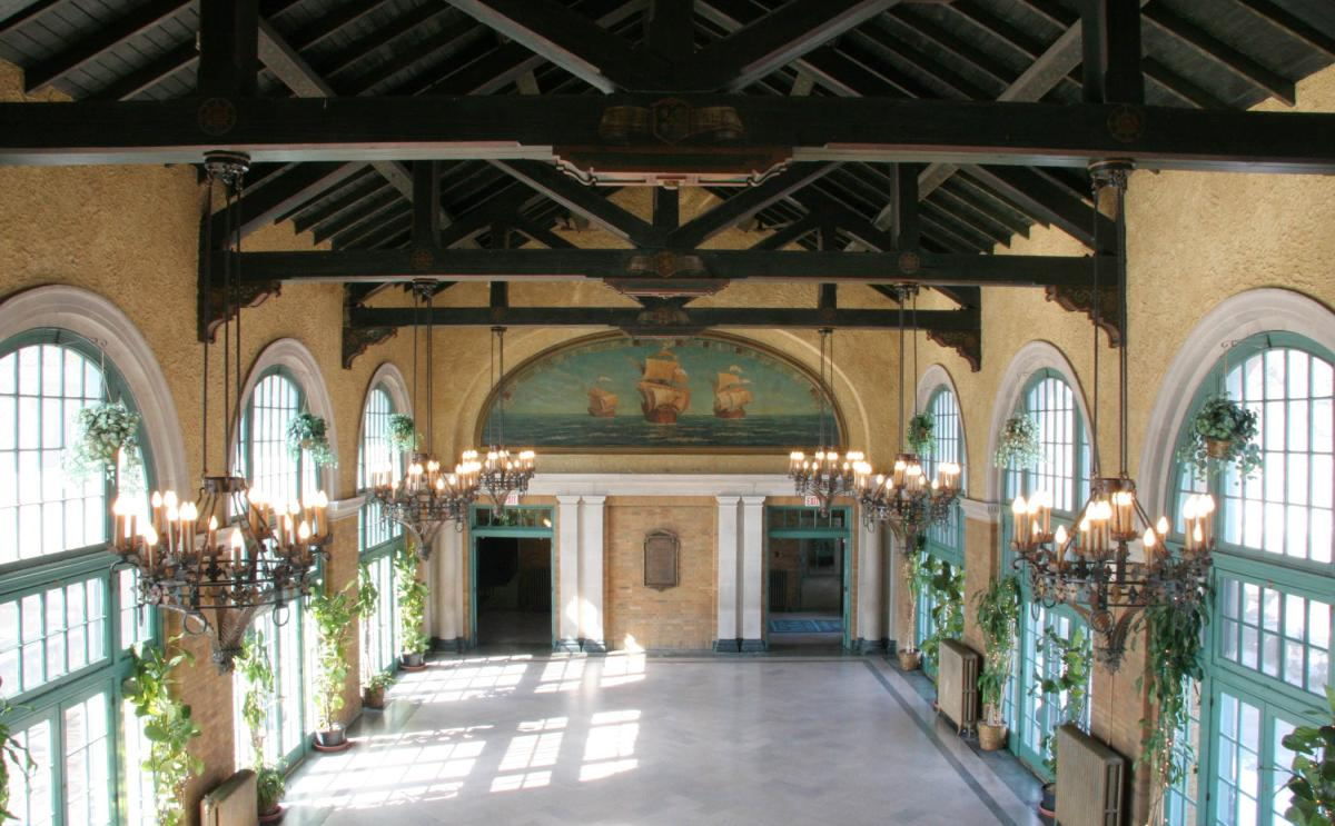 The historic stable building  Location: Oak Park Seated Capacity: 200 Saturday Price: $4,910