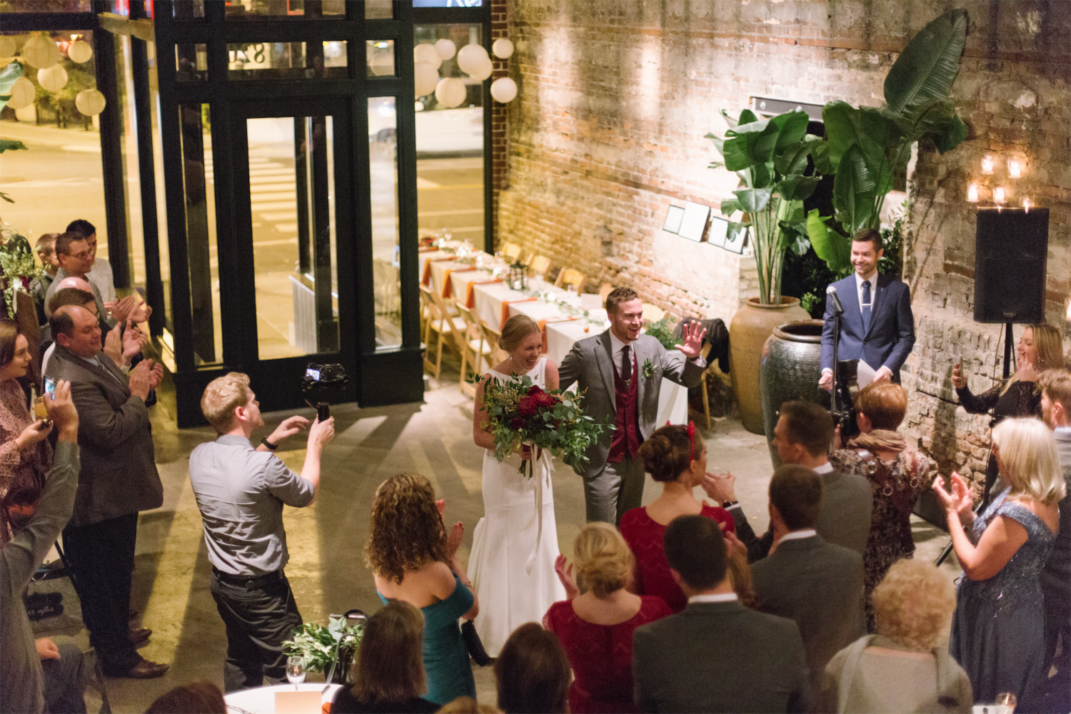Sarah & Dan : After years of lusting over this unique Chicago venue, bride Sarah tells us about how her vision came to life.  Read More .