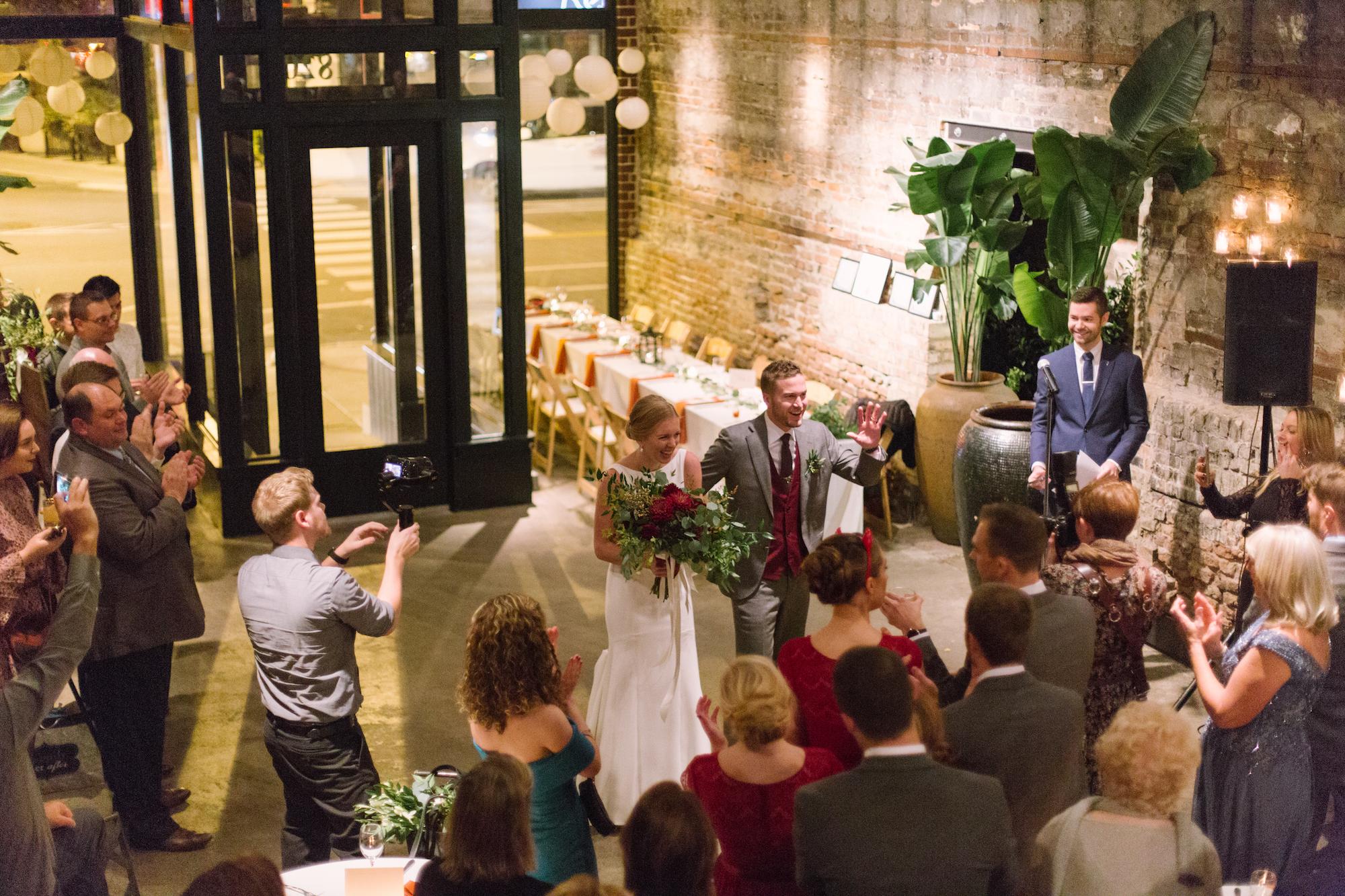 Sarah & Dan - Chicago, ILVenue: A New LeafPhotographer: Geneva Boyett