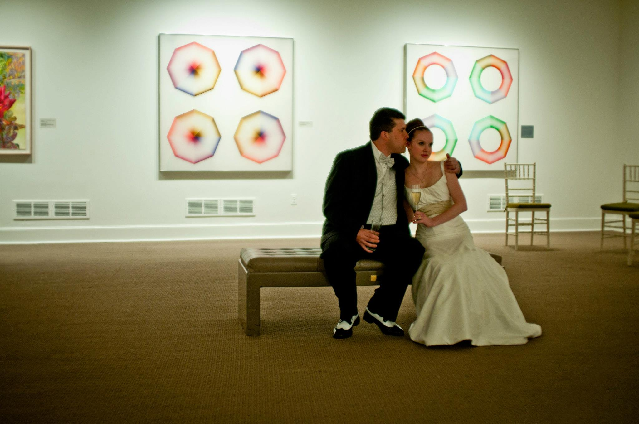 Alana & Nick - Washington, DCVenue: National Museum of Women In The ArtsPhotographer: Elope DC Photo