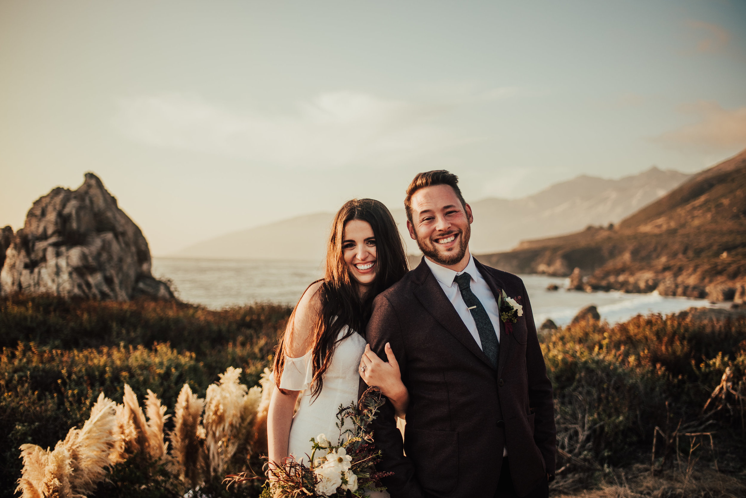 Natalie & Rocky - Big Sur, CAVenue: The coast of Big SurPhotographer: Tessa Tadlock
