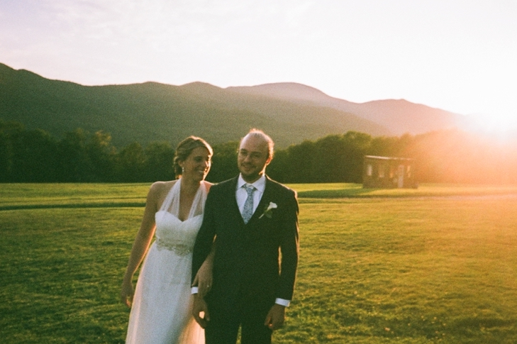 Elisabeth & Denis - Stowe, VTVenue: Trapp Family LodgePhotographer: Danijela GorleyGuest Count: 50Best part of our wedding? After the ceremony we took a brief hike on our own (with our photographer) to a secluded chapel in the woods behind the reception site. We also escaped dinner for a few minutes while the sunset to take more photos. These private moments were really special.