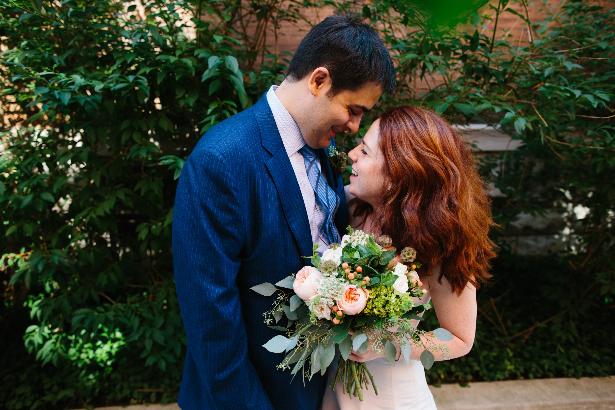 Helena & Cole - Chicago, ILVenue: The PublicanPhotographer: Matt HaasVibe: CasualWhat was the best part of your wedding? The food made everyone relaxed and happy.