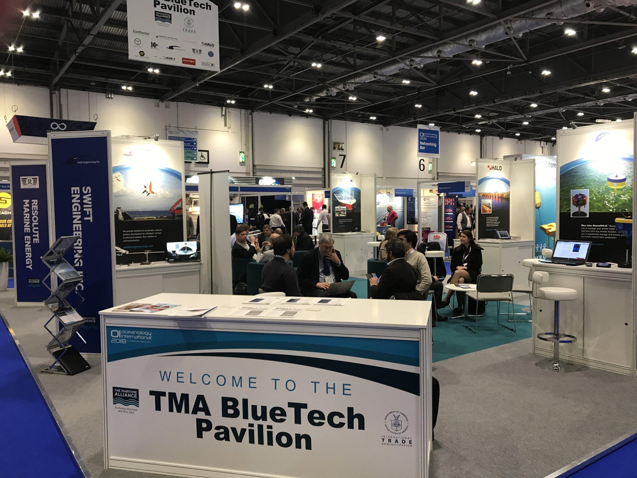 USMTEI 2018 Oi TMA BlueTech Pavilion.JPG