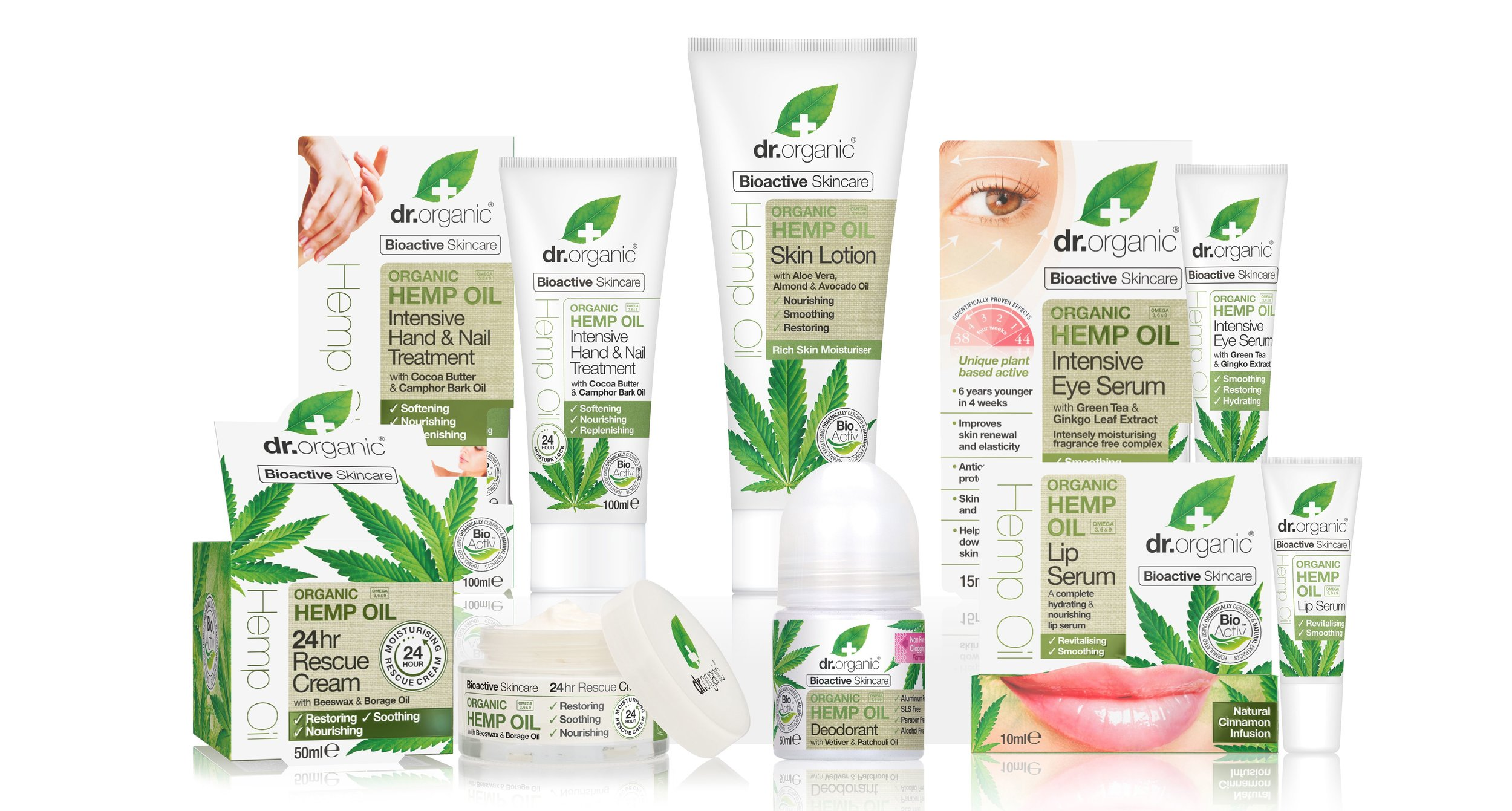 dr organic vegan products