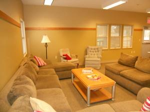 Main House Lodge-Living Area