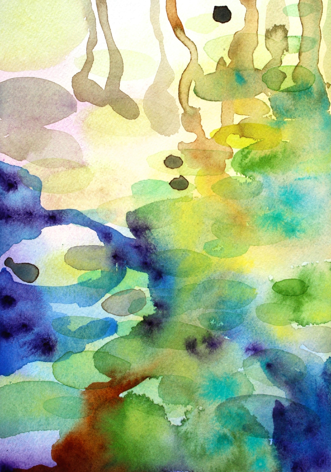 PAINTING THAT WON WINSOR & NEWTON WATERCOLOUR REVOLUTION COMPETITION