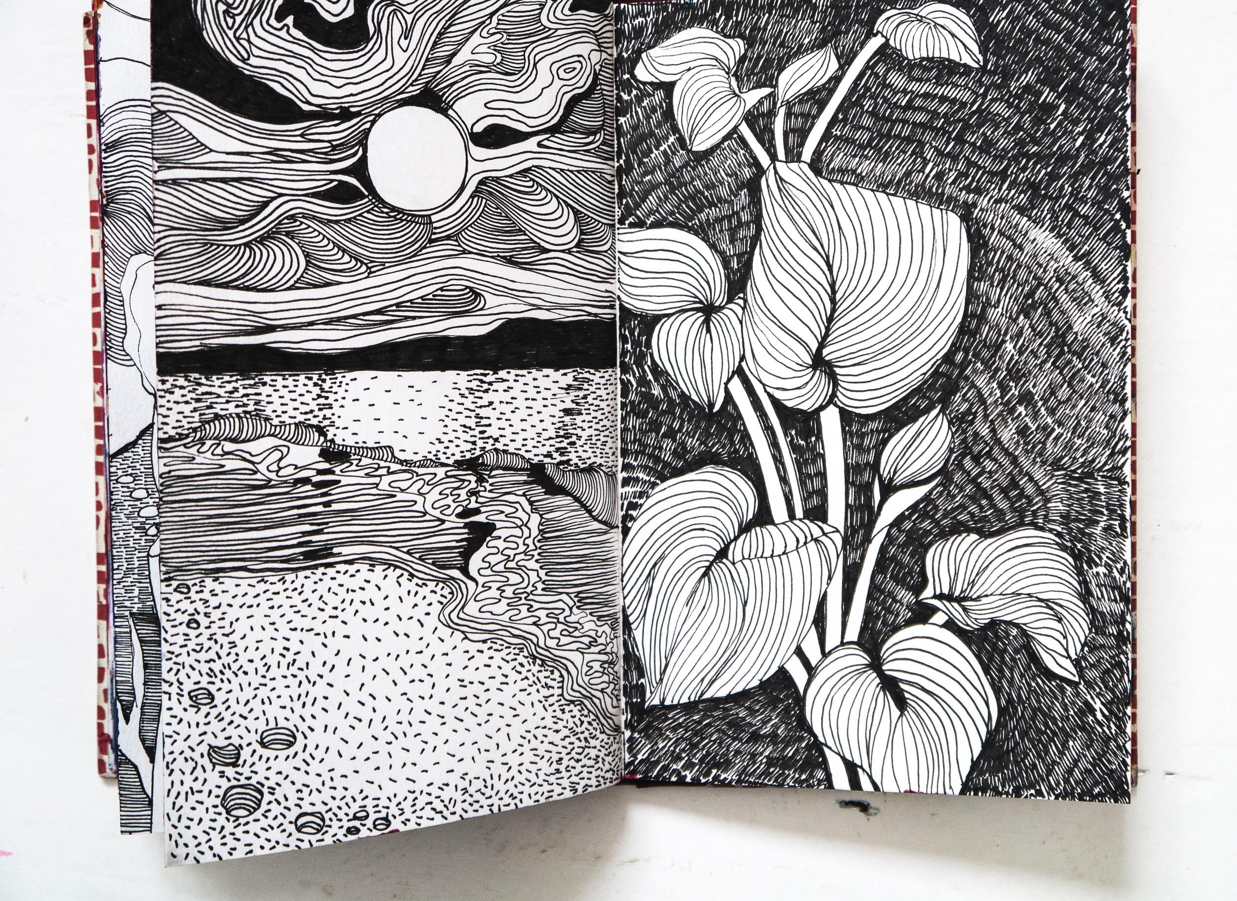 Helen+Wells+Expressive+Sketchbooks