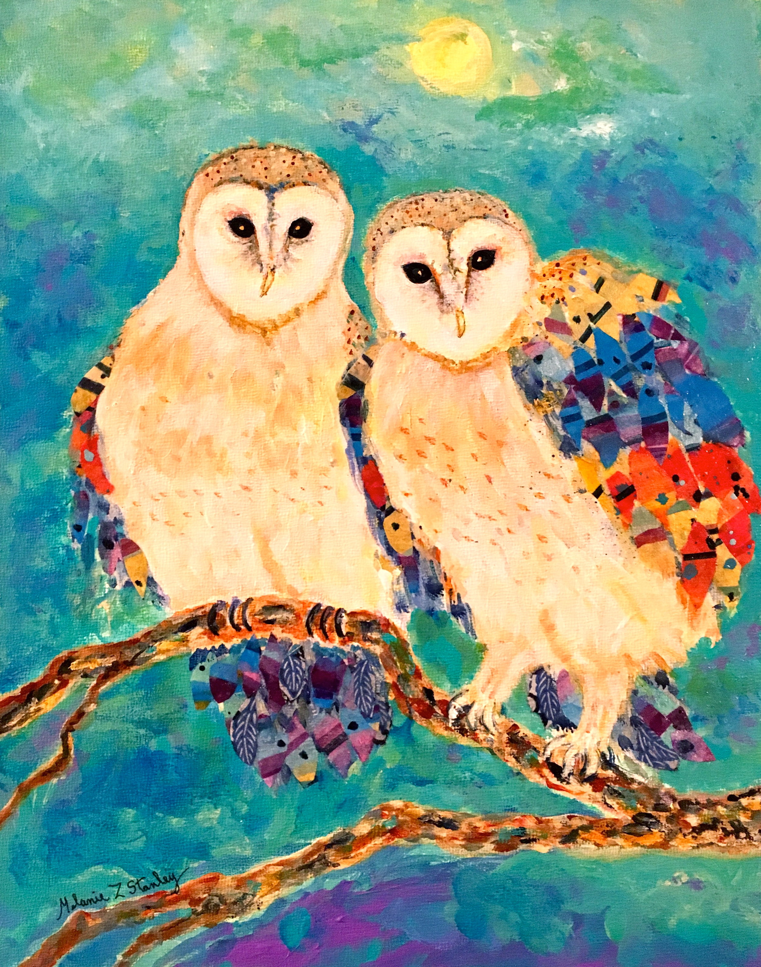 Give a Hoot About Owls! - Melanie Stanley