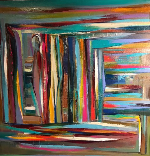 JOANNE ROBERTS-WITTAUER Shades of Blue 24x24 $900. .jpeg