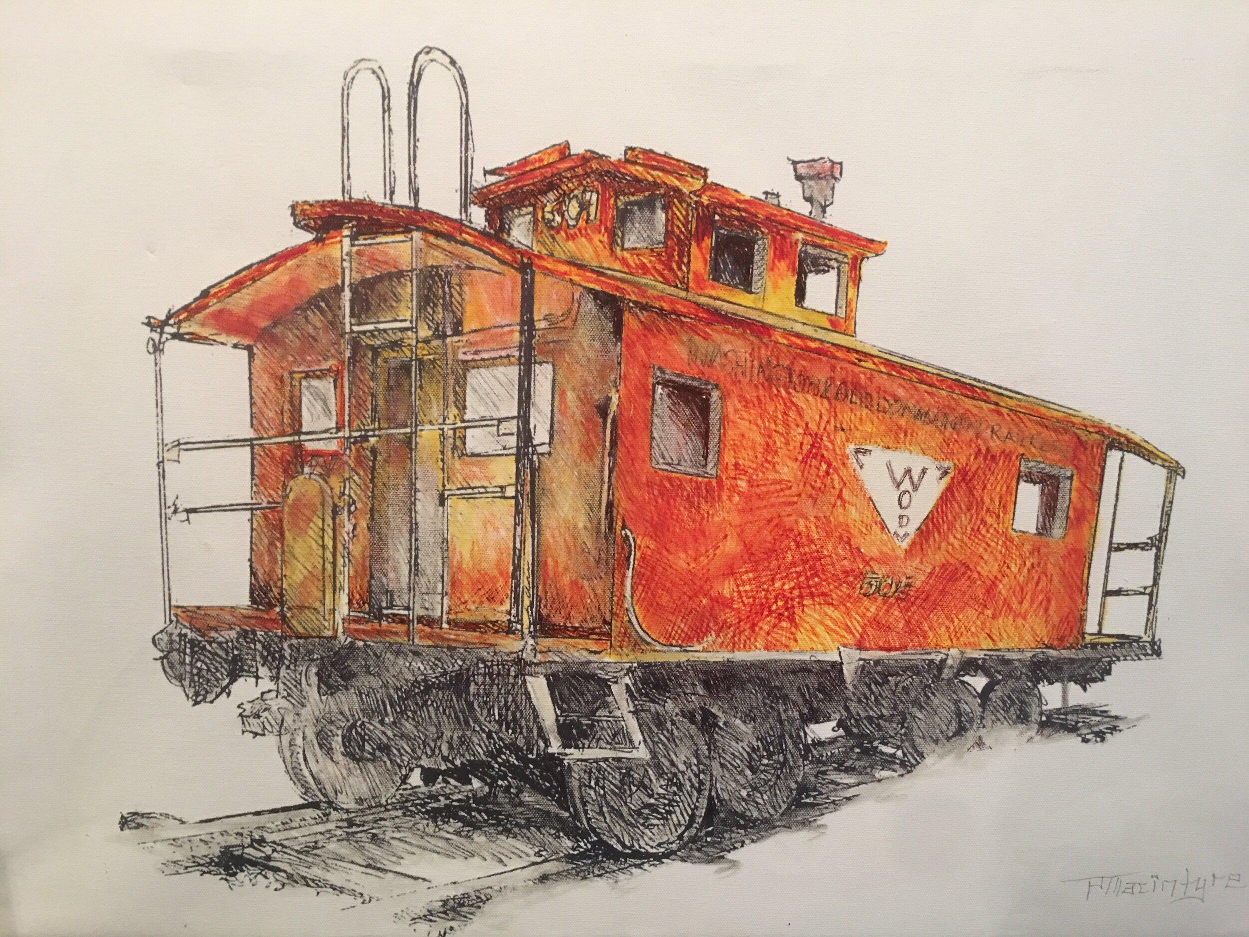 Lake Anne Train Painting.JPG