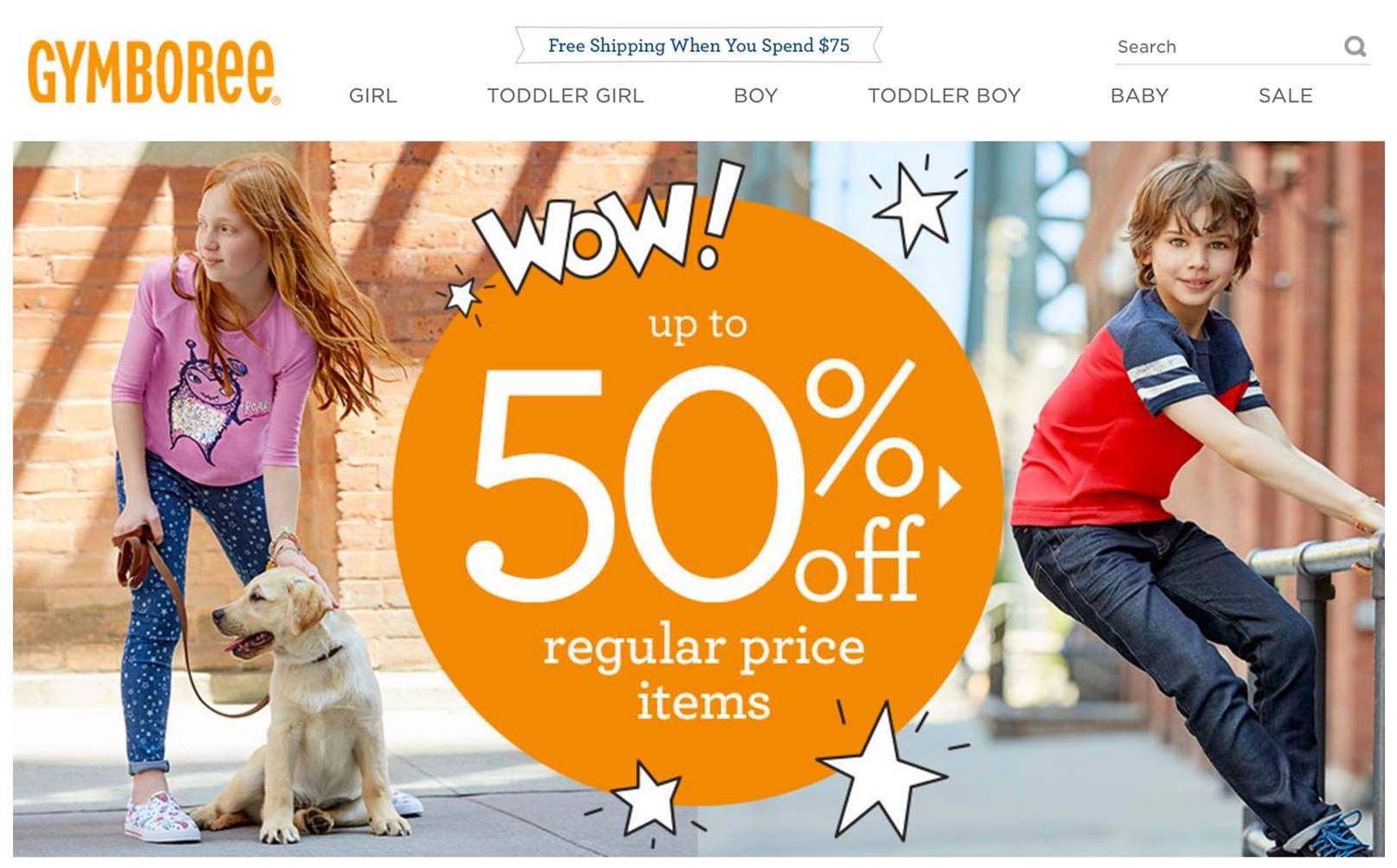 Otto modeling for Gymboree!