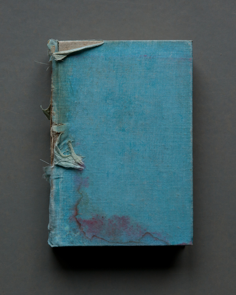 Turquoise Cloth Cover, 2017