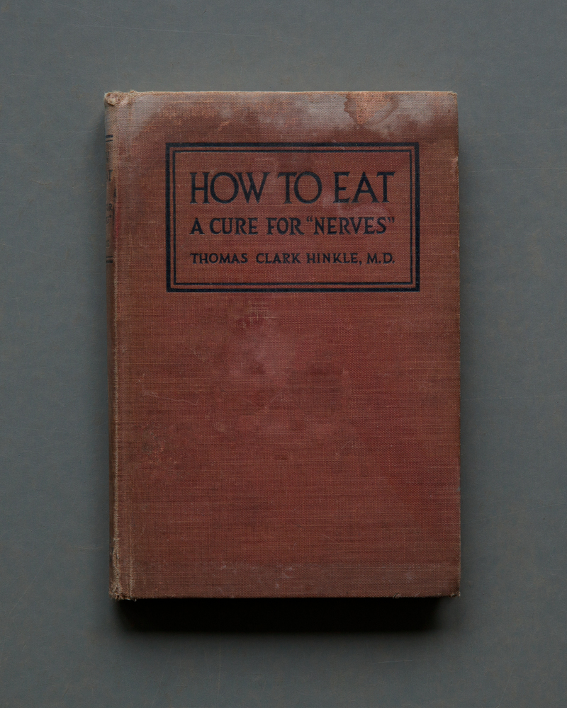 How to Eat, A Cure for Nerves, 2017
