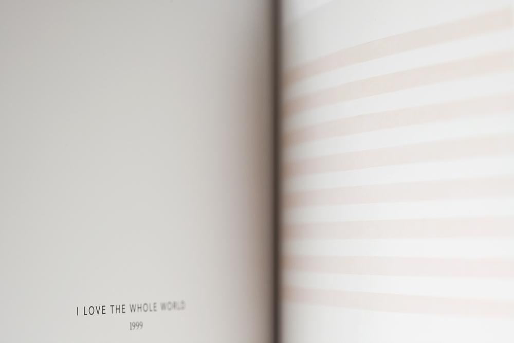 I Love the Whole World, Agnes Martin, 2012
