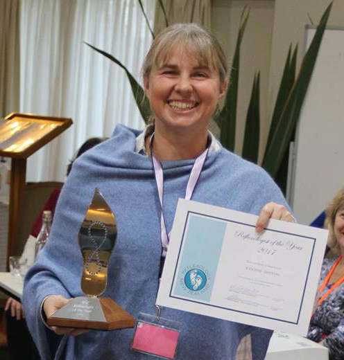 2017 Reflexologist of the Year