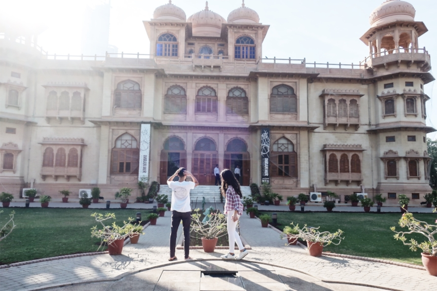 Love, love Mohatta Palace Museum