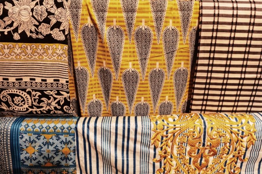 Block Printed Cotton fabrics at another shop