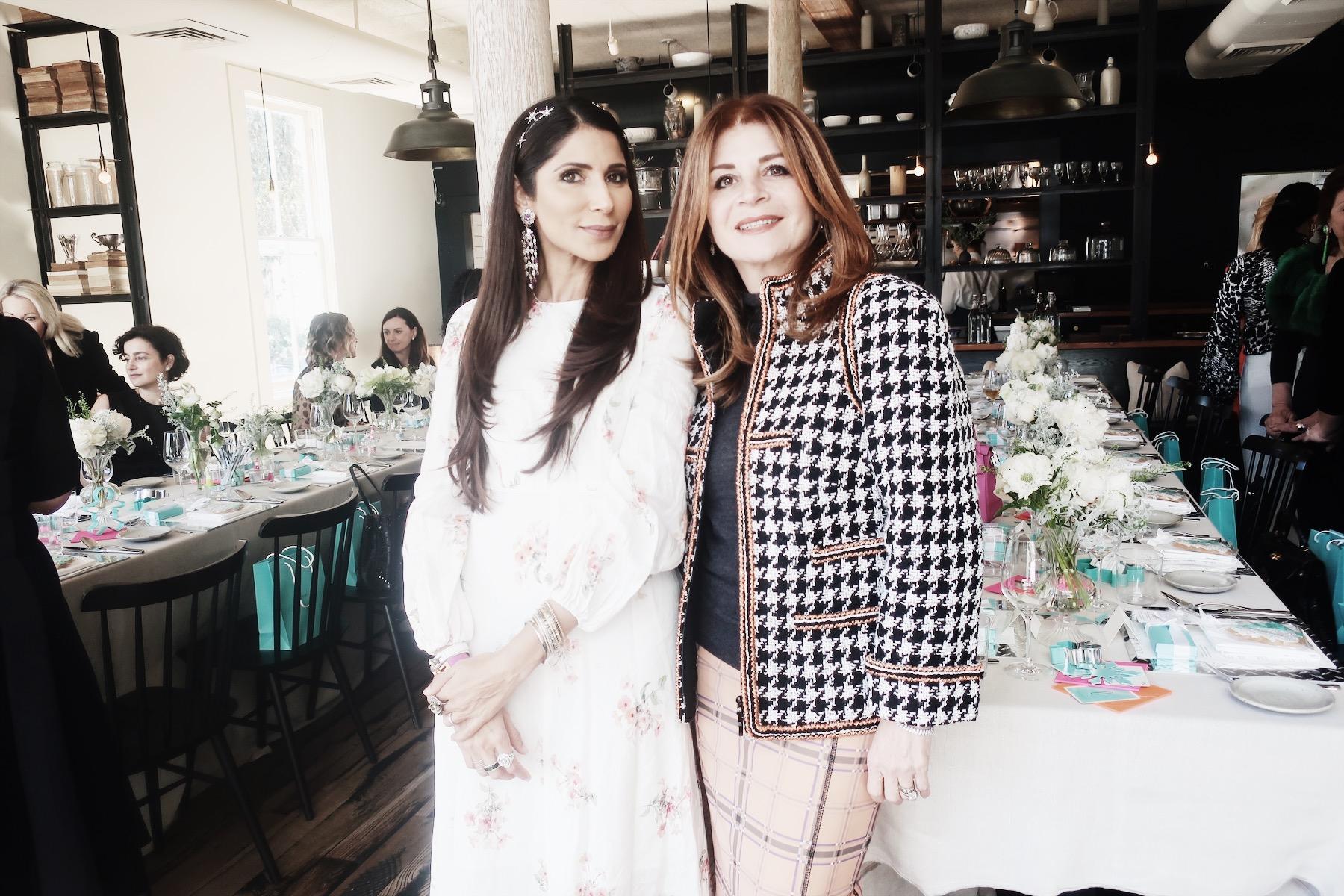 Posing with my dear friend, Farah