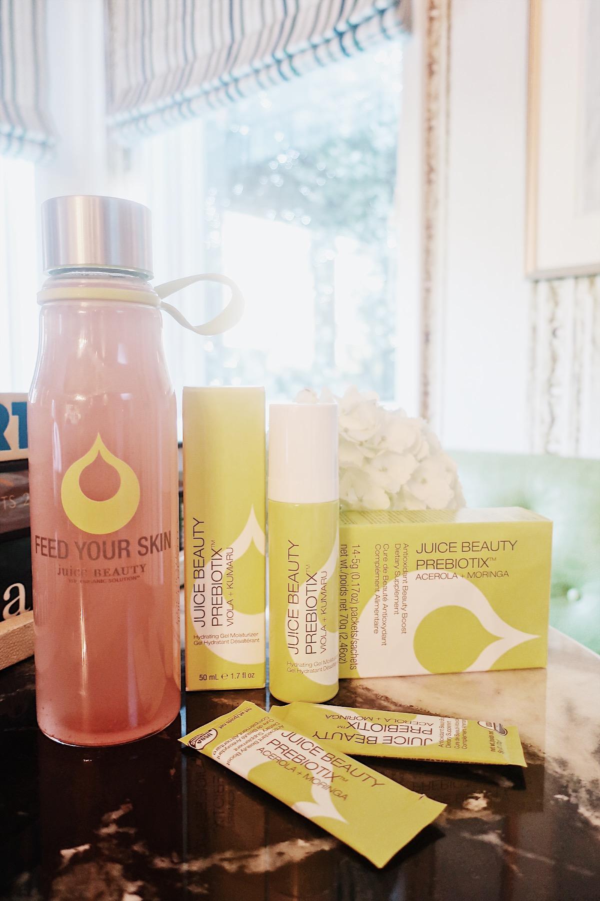 PREBIOTIX Hydrating Gel Moisturizer and PREBIOTIX Antioxidant Beauty Boost Supplement