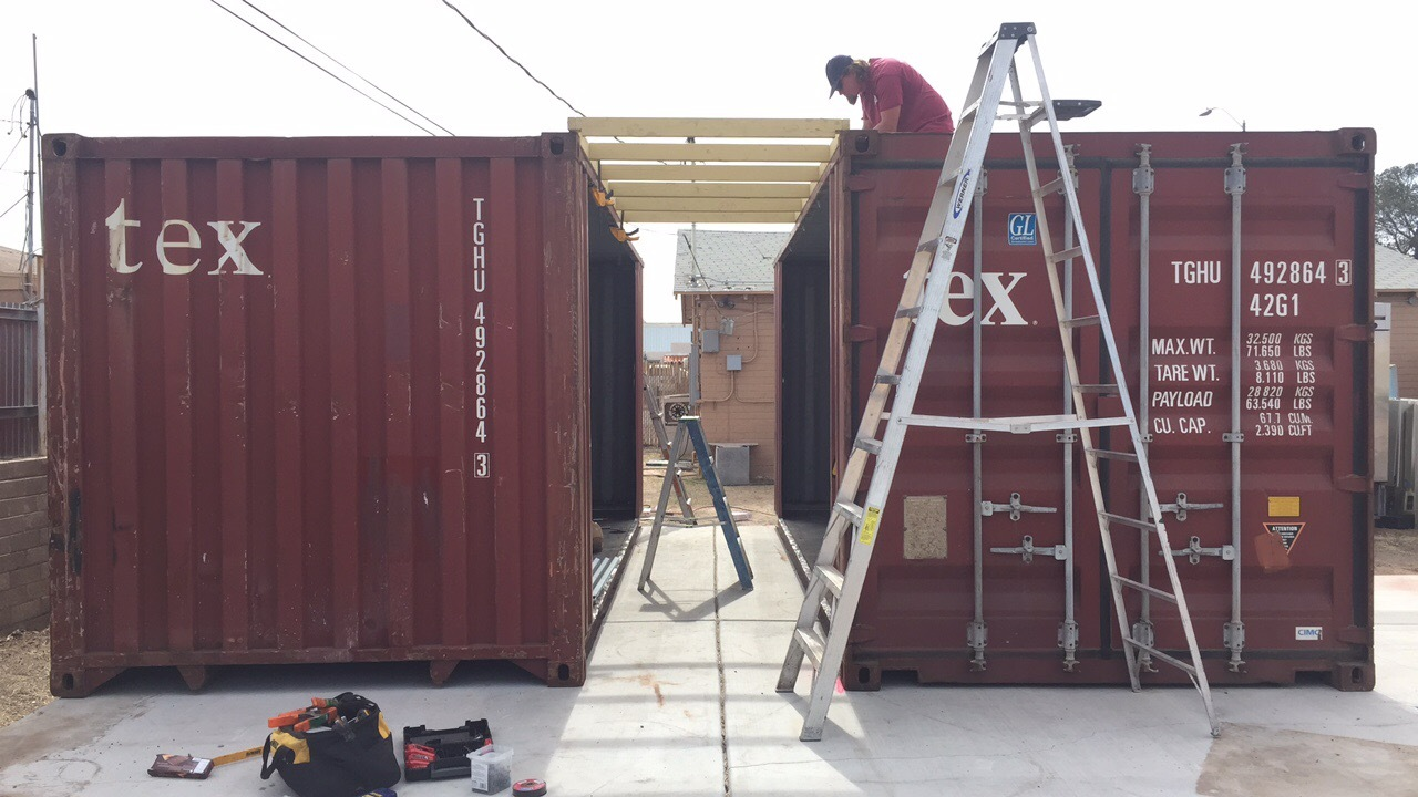custom shipping container storage solutions