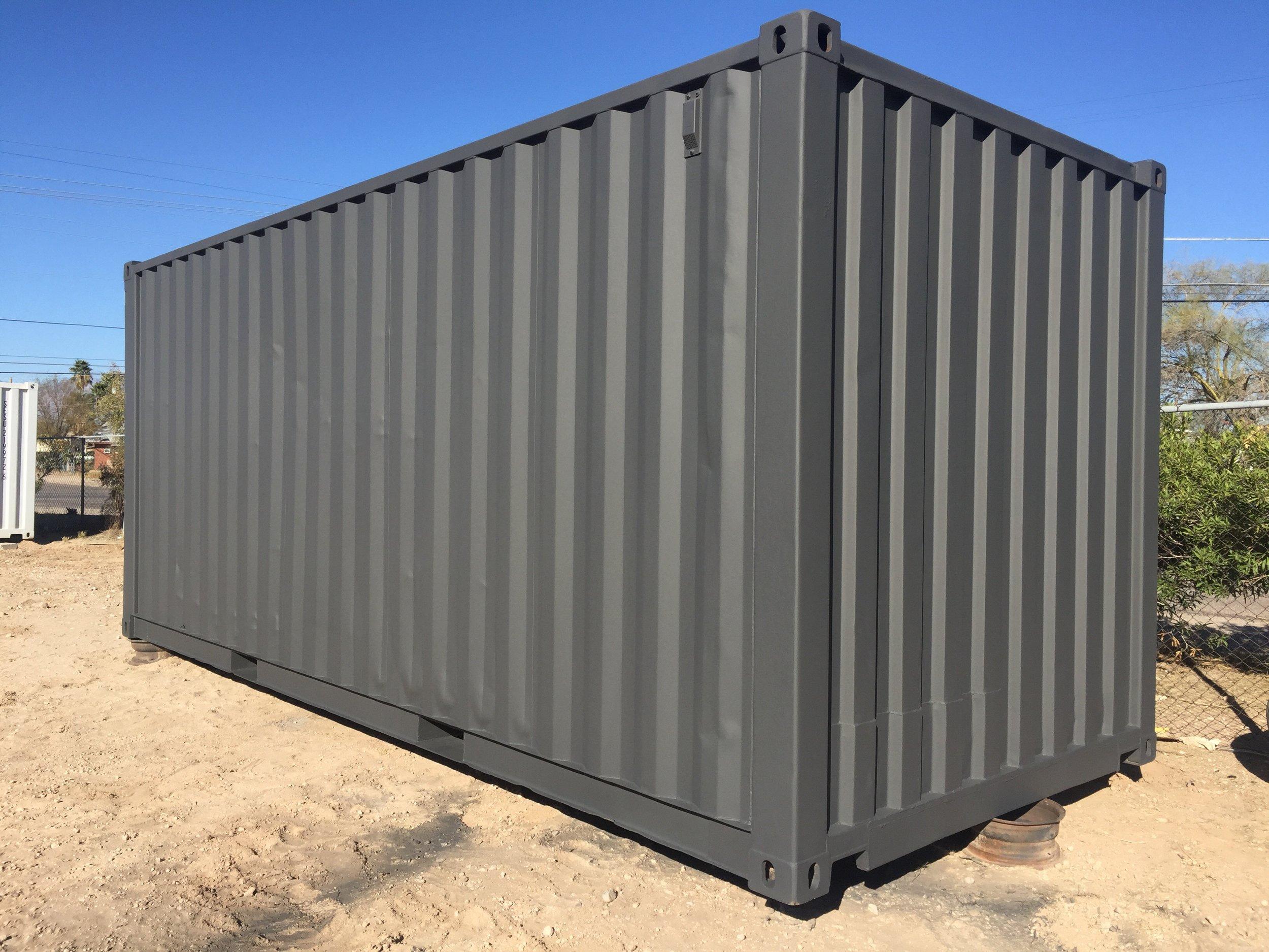 shipping container premium paint job