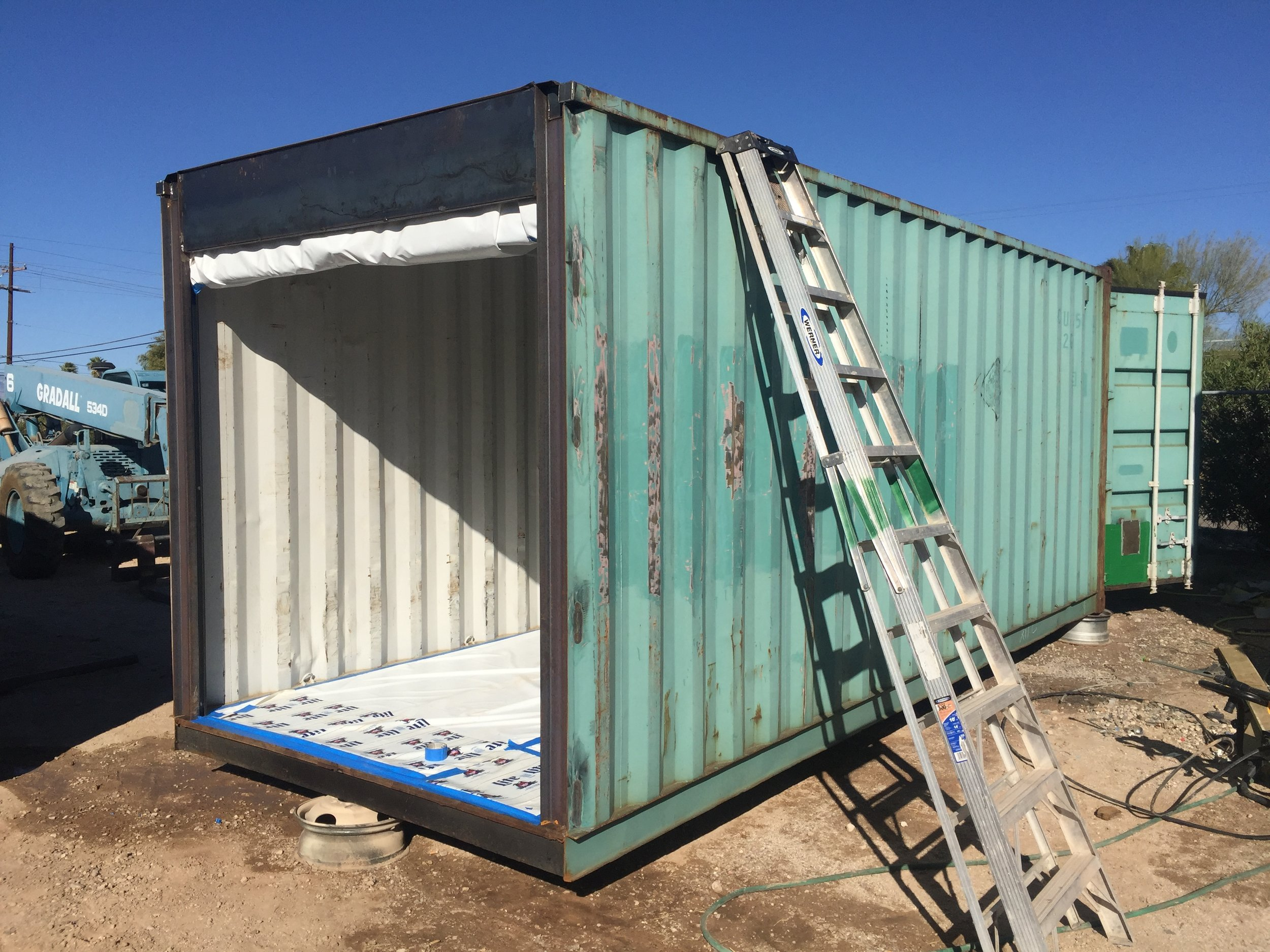 custom shipping container fabrication